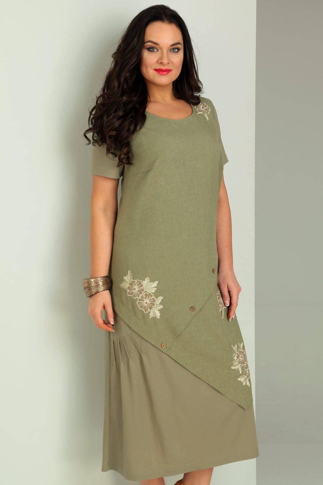 Платье Jurimex 1734 Хаки - фото 2