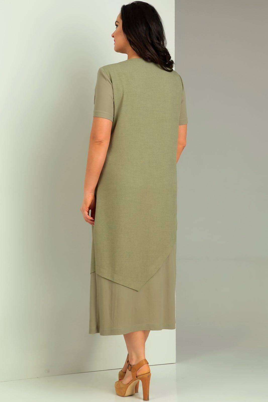 Платье Jurimex 1734 Хаки - фото 5