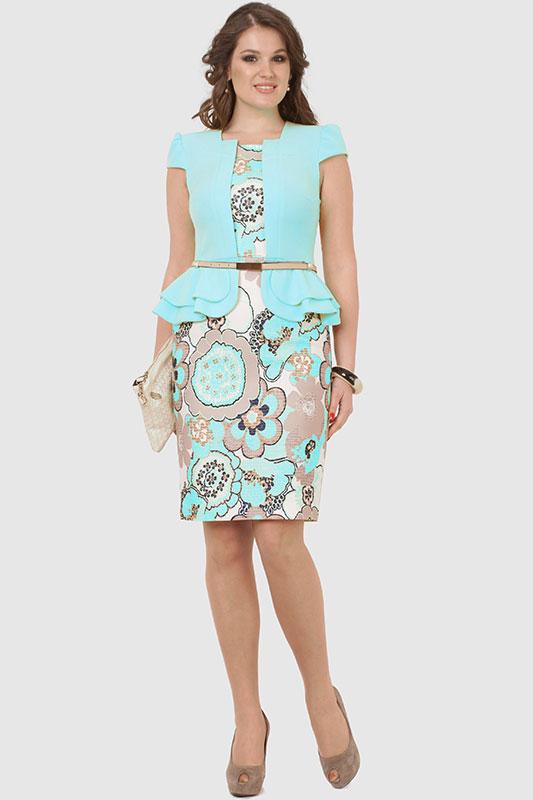 Платья из двух цветов фото