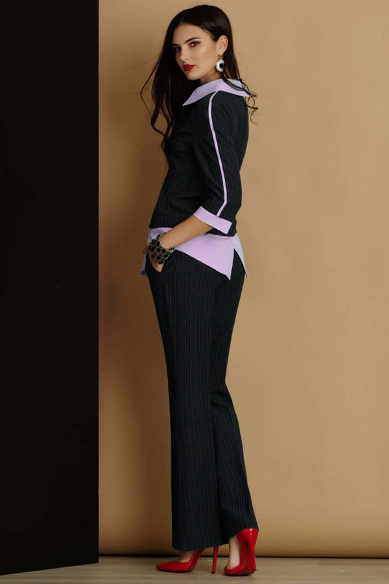 Комплект Lissana 2915-1 темно-серый с розовым - фото 3