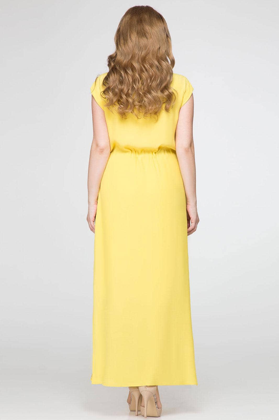 Платье Panda 380080 желтый - фото 2