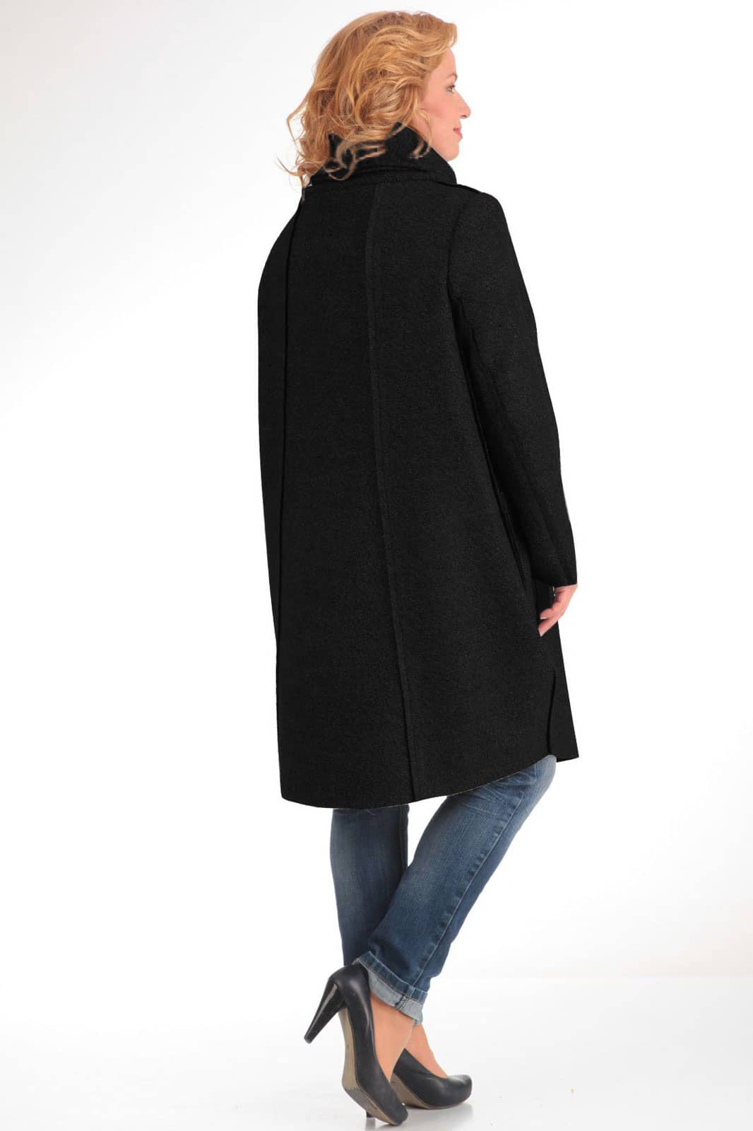 Пальто Pretty 485-2 черный - фото 2