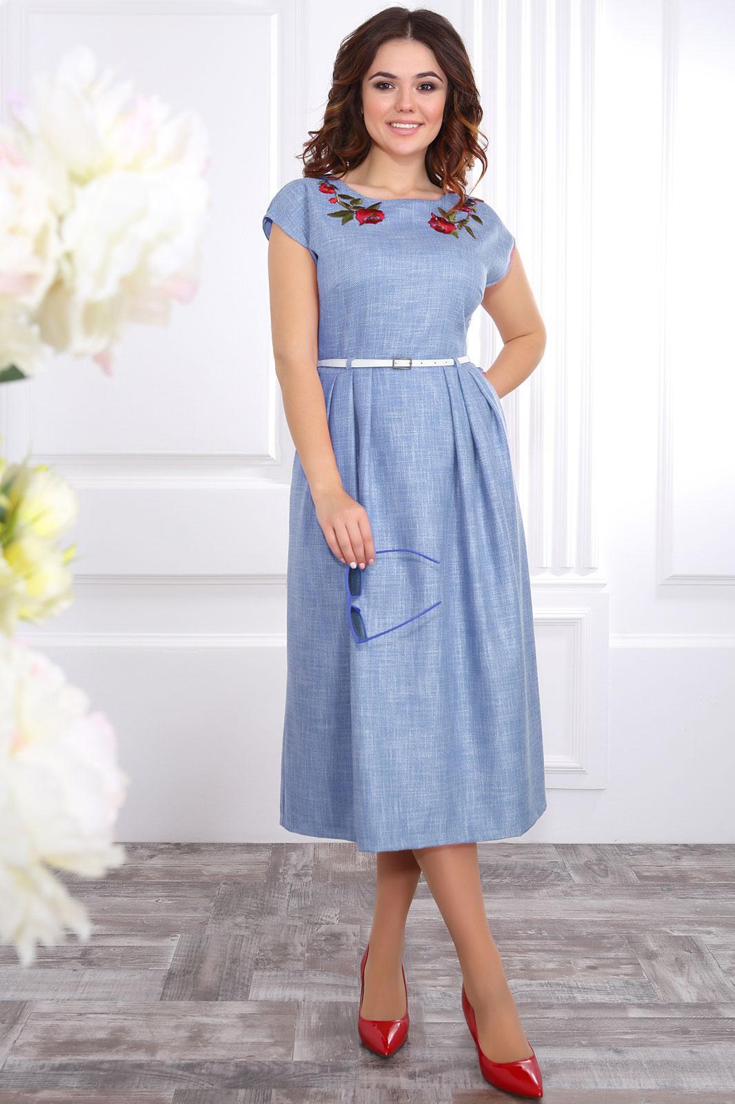 Белорусская одежда платье лен