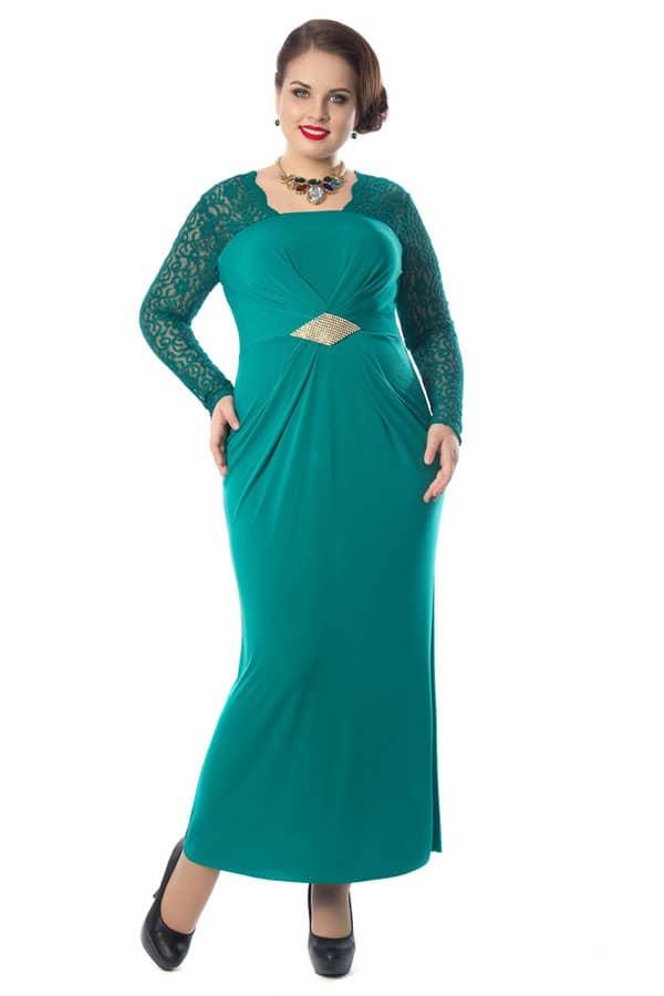 Зеленое вечернее платье купить