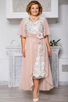 Платье Aira Style 442-1 нежно-персиковый