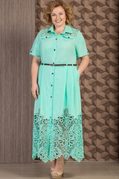 Платье Aira Style 480-3 Мятный