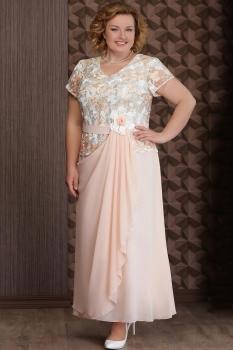 Платье Aira Style 495-1 бежевый