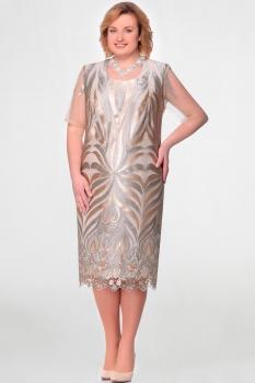 Платье Aira Style 511-2 молоко