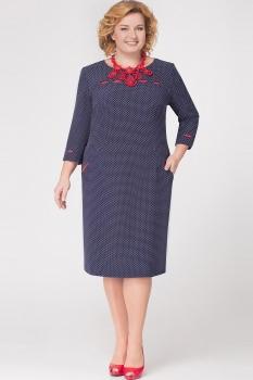 Платье Aira Style 5117 Горох