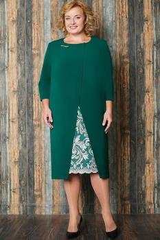 Платье Aira Style 515-1 Зеленый