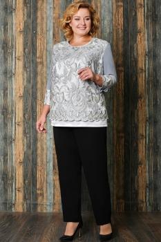 Костюм Aira Style 529-3 Серый/Черный