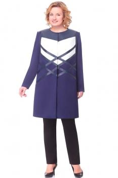 Жакет Aira Style 542 темно-синий