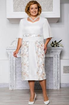 Платье Aira Style 571 молочный
