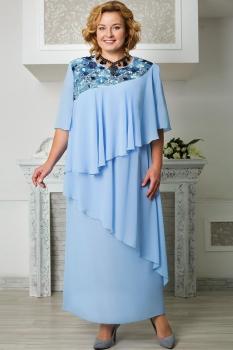 Платье Aira Style 574 Голубой