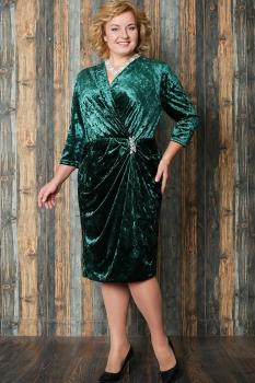 Платье Aira Style 582 Зеленый