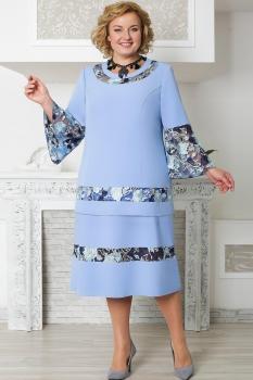 Платье Aira Style 584 Синий