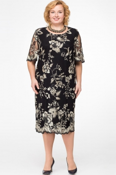 Платье Aira Style 591 Черный