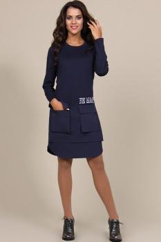 Платье Alani 578 Темно-синий