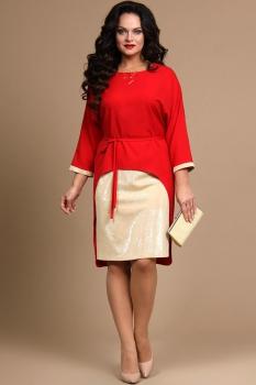 Платье Alani 623 Красный