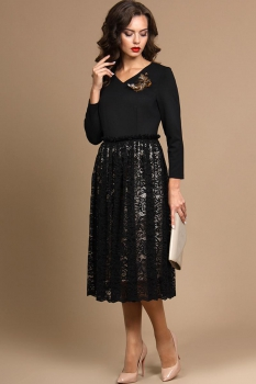 Платье Alani 630 Черный