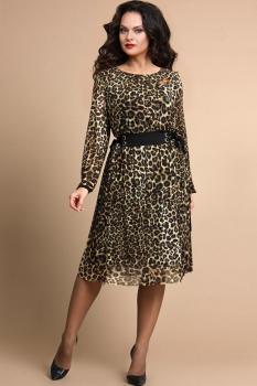Платье Alani 651 Леопард