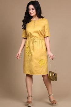 Платье Alani 714 оттенки жёлтого