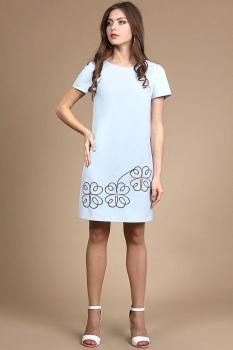 Платье Alani 729 голубой