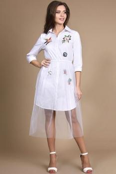 Платье Alani 744 белый