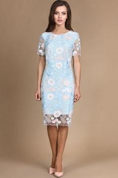 Платье Alani 752 голубой