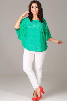 Комплект Anastasia 125-2 зелёный с белым