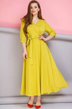 Платье Anastasia 134-2 горчица