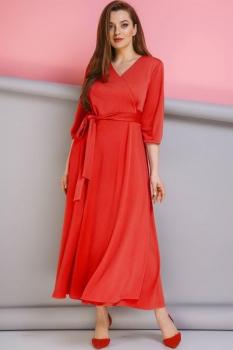 Платье Anastasia 134-3 красный