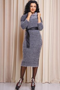 Платье Anastasia 163-1 серый