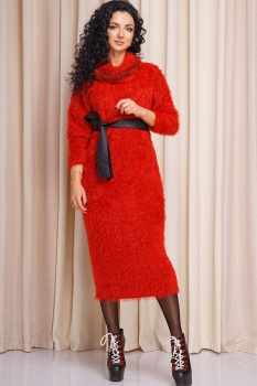 Платье Anastasia 163-2 красный