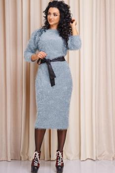 Платье Anastasia 163 голубой
