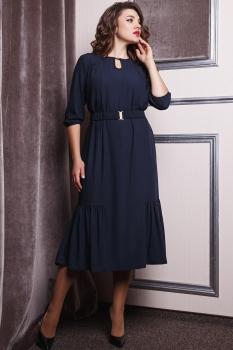 Платье Anastasia 167 тёмно-синий