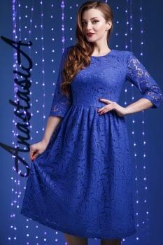 Платье Anastasia 171 василёк