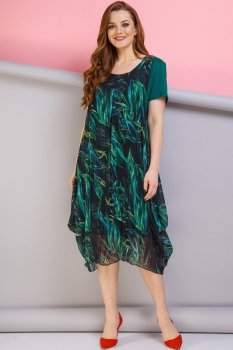 Платье Anastasia 188 зелёный