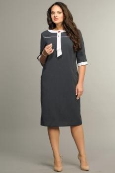 Платье Andrea Style 002 темные-тона