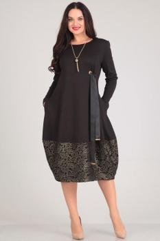 Платье Andrea Style 0031 черный