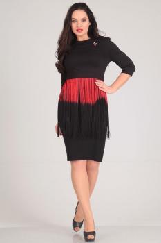 Платье Andrea Style 0033 черный