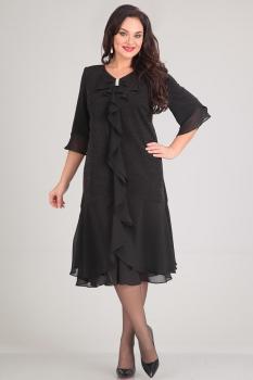 Платье Andrea Style 0036-1 черный