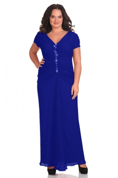 Платье Andrea Style 1142 синий