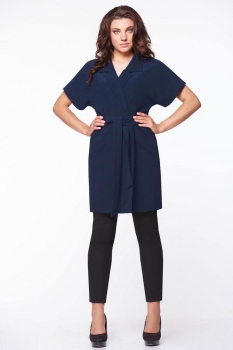 Кофта Andrea Style 4028-2 темно-синий