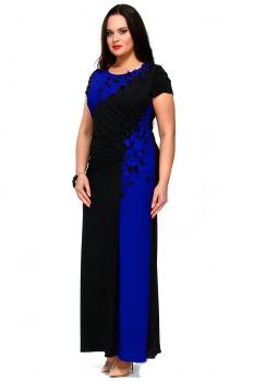 Платье Andrea Style 7048-2 васильковый