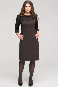 Платье Anna 720 мокко