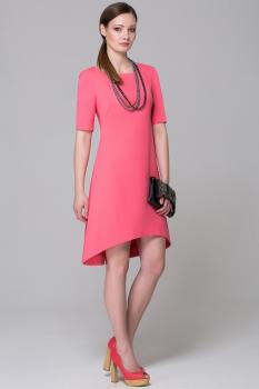 Платье Anna 777 розовые тона