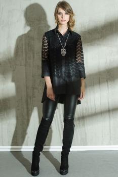 Блузка Anna Majewska 1031-1 черный