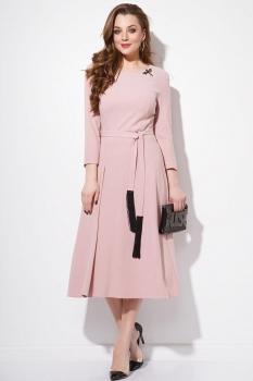 Платье Anna Majewska 1058-2 пудра