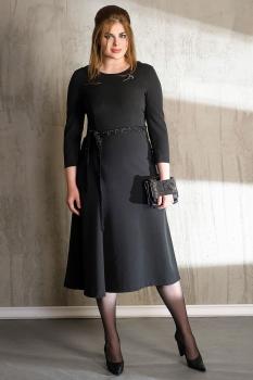 Платье Anna Majewska 1058 темные тона